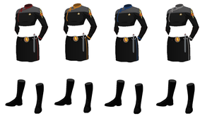ISS Vanguard Female Officers Uniform variant 1 by docwinter