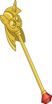 The Jester's Gift Scepter by Ambits
