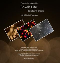 Bokeh Life Texture Pack by sdrakulich