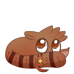 Rigby's Design by Cookie-and-her-foxes