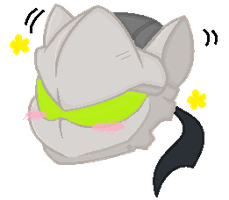 {OVERWATCH} Genji with Cat Ears by gliitchx