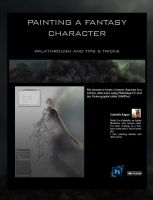 Painting a fantasy character - Walkthrough by gabrielleragusi