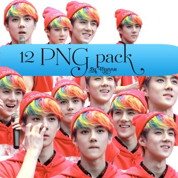 Sehun PNG pack by munnie99