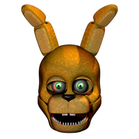 Spring bonnie Head by 3D-Darlin