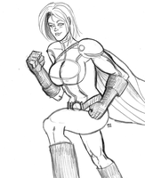 POWER GIRL DSC 07-11-2011 by kaioutei