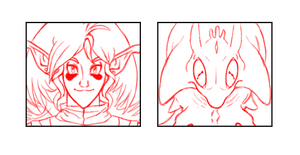 WIP Skit Faces for Character Q n A by SiscoCentral1915