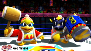 (MMD Model) King Dedede V2 DL (Outdated) by SAB64