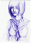 faded ballpoint pen thing by Antervantei
