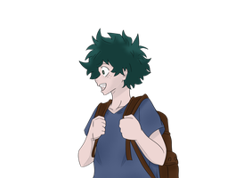 Deku School - Colored by Otarun90