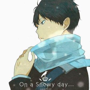 Scarf  [Kageyama Tobio x Reader | Drabble] by Marguaery on
