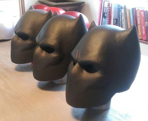 Black Panther cowls  by 4thWallDesign