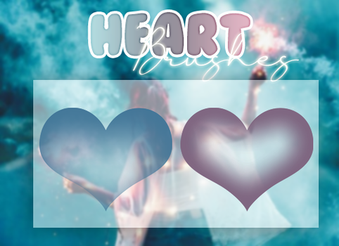 +HEARTS   BRUSHES PACK #O2 by xPufflex