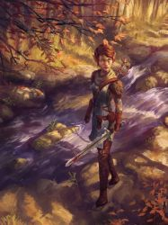 Dragon Age: Inquisition, Wifey's Inquisitor by poojipoo