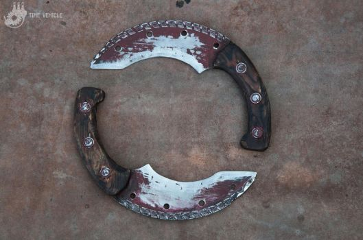 Saw Blade Knifes by Tharrk