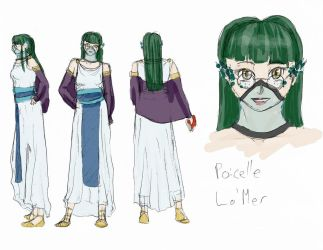 Character Profile: Poicelle La'Mer by Meagharan