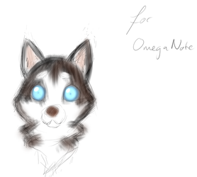 Appreciation Day: Chibi Husky for OmegaNote by ARHDian