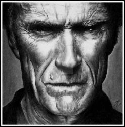 Clint Eastwood by Doctor-Pencil