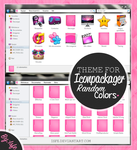 Theme for iconpackager- Random colors by Isfe