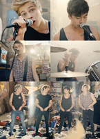 She Looks So Perfect - 5sos (music video) by GlovesA