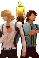 Tiger and Bunny The Rising by emptycicada1