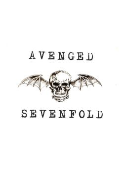 Avenged Sevenfold Notebook Cover (front) by mourningfelix