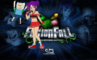My life in Fusion fall by Looneychic1