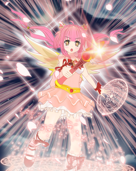 Hime - Magical Girl (CNTM Contest) by AKIO-NOIR