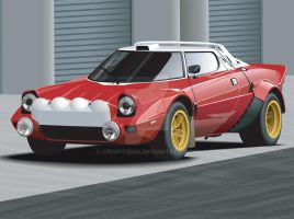 Lancia Stratos by CRWPitman