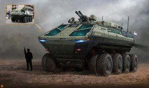 Lazar 5 Armored Vehicle by IvanSevic