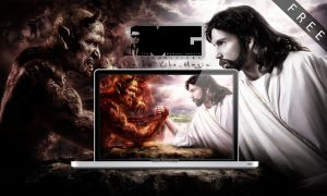 JesusDevil-CompiledWallpaper by MGraphicDesign
