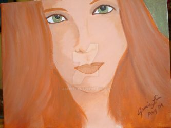 Red Head by JamieLin