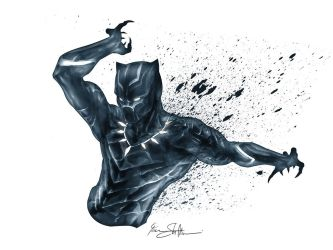 Civil War Black Panther by Iantoy