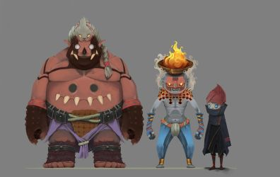 IS 1969 character line up by AlvaroCardozoW