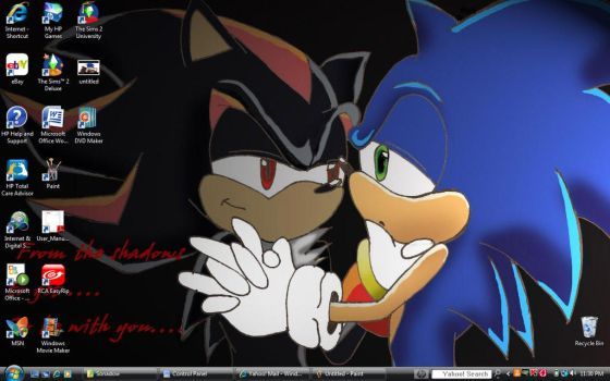 sonadow screen shot awwwwwwww by SonadowFanClub