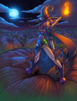 The Great Pumpkin Witch, Championship Edition!! by tas1138