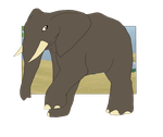 Botanica Zoo || African Elephant || Abagail by LadyPipen