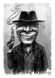 Ed Harris,the sadistic smile of the future western by UNDISCOVER-art