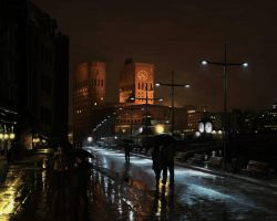 Oslo Rain by Viking011