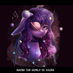 Give Her Some Space || My Oc by LeafyMerilynn