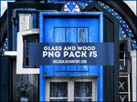 PNG PACK #5 - glass and wood by hulsuga