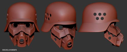 Protect Gear Helmet and Mask by HighlanderFX