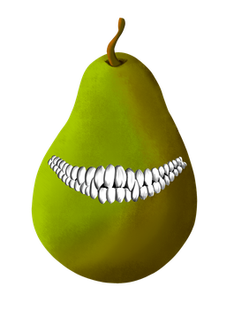 smile pear by necro1337