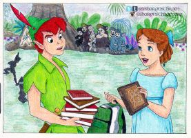 Peter Pan and Wendy - 'Back To School' by Sharsel