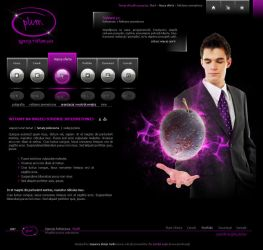 website layout 51 by DesignersJunior