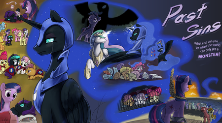Past Sins Cover - COM by PenStrokePony