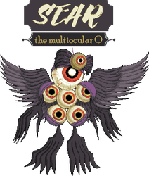 Sear the Multiocular O by SugarySweetSprites