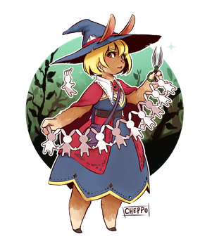 Rabbit Witch Bisque by Cheppoly