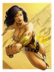 Wonder Woman Con  Coloured by spidermanfan2099