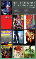 My Top 10 games by TenshiHoshino