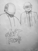 Daft Punk by Locozee